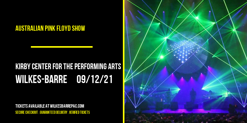 Australian Pink Floyd Show [CANCELLED] at Kirby Center for the Performing Arts