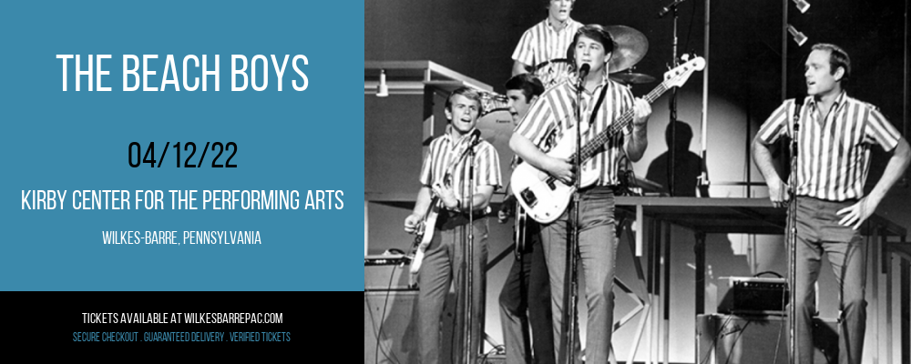 The Beach Boys at Kirby Center for the Performing Arts