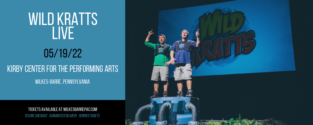 Wild Kratts - Live at Kirby Center for the Performing Arts