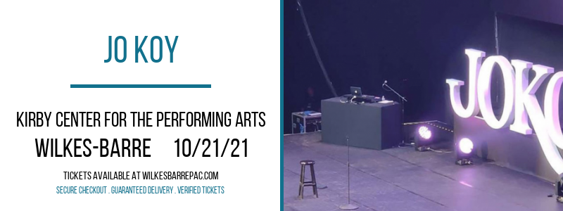 Jo Koy at Kirby Center for the Performing Arts