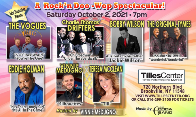 A Rock'n Doo Wop Spectacular at Kirby Center for the Performing Arts